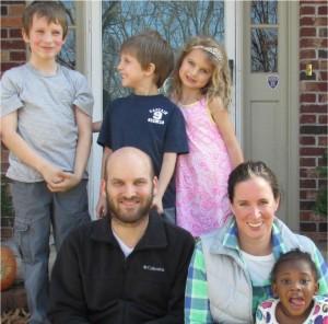 Joel Fankhauser and Family